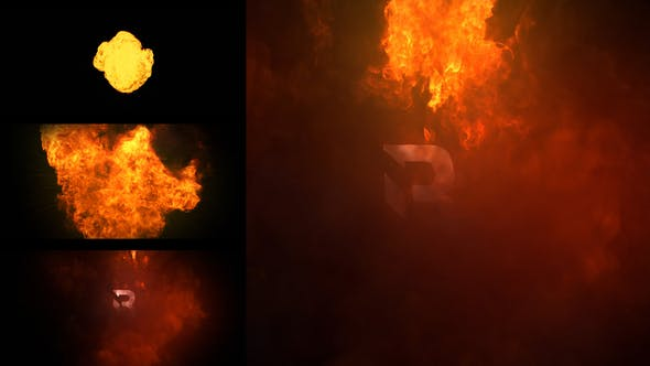 Videohive Fire Logo Reveal 29997948
