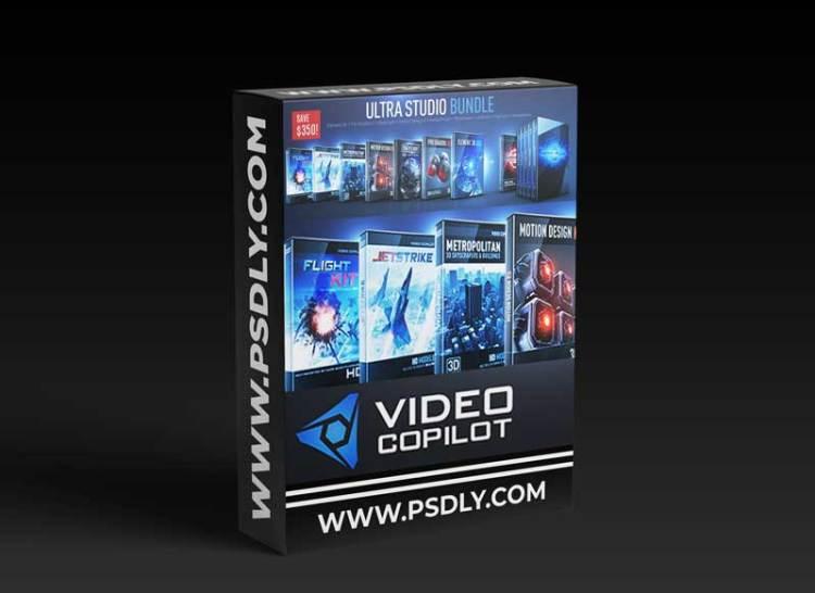 Video Copilot – Element 3D (Ultra 3D Bundle)