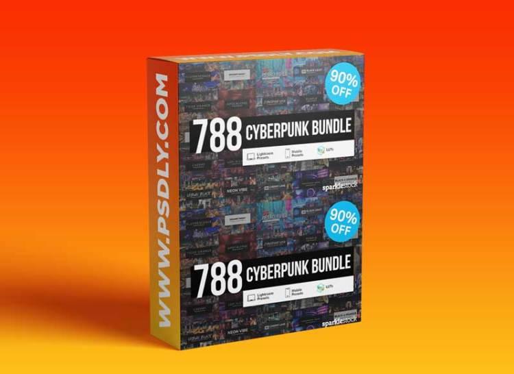 CreativeMarket - 788 Cyberpunk Presets LUTs 5883096