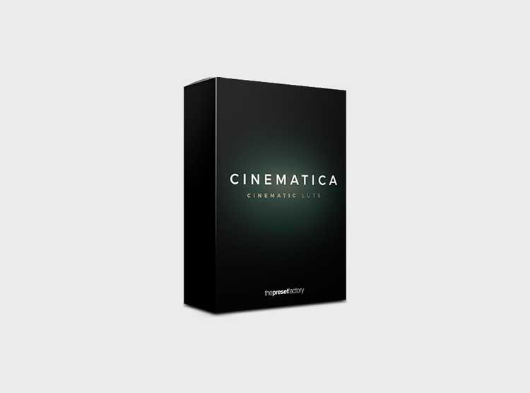 The Preset Factory-Cinematica Luts – 25 Luts