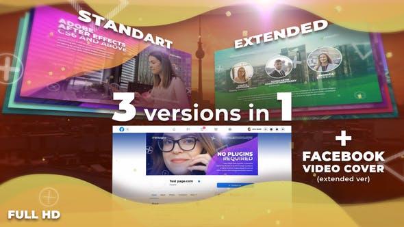 Videohive Wavy Stylish Presentation 30602483