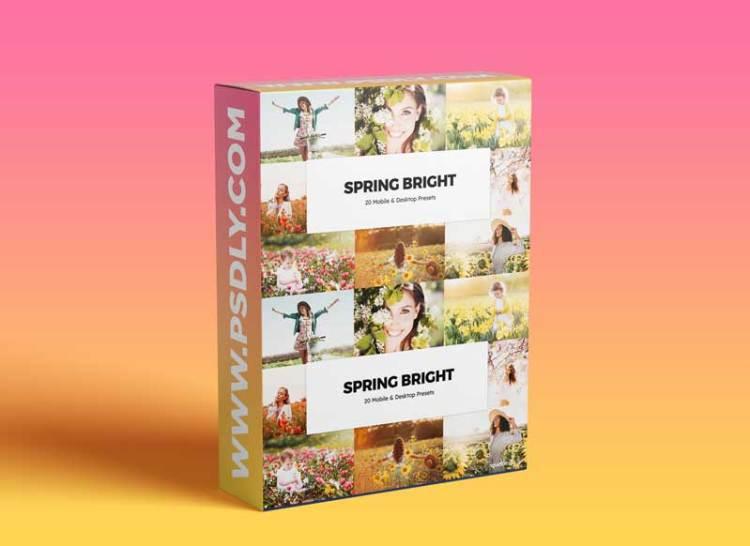 20 Spring Bright Lightroom Presets & LUTs