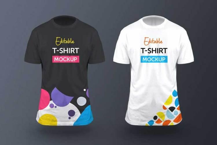 3D T-Shirt Mockup - Vol 01 LNP59SX