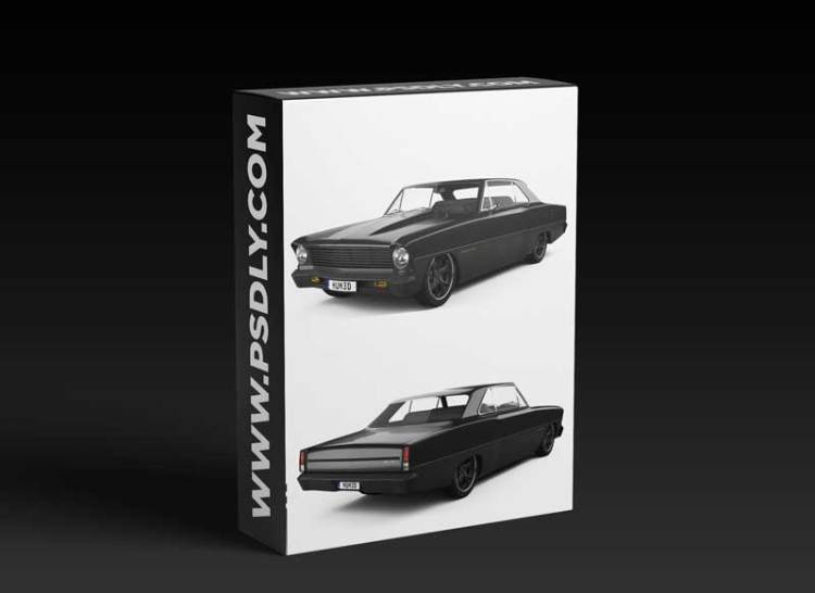 Chevrolet 1967 Nova 2.0 2015 3D model