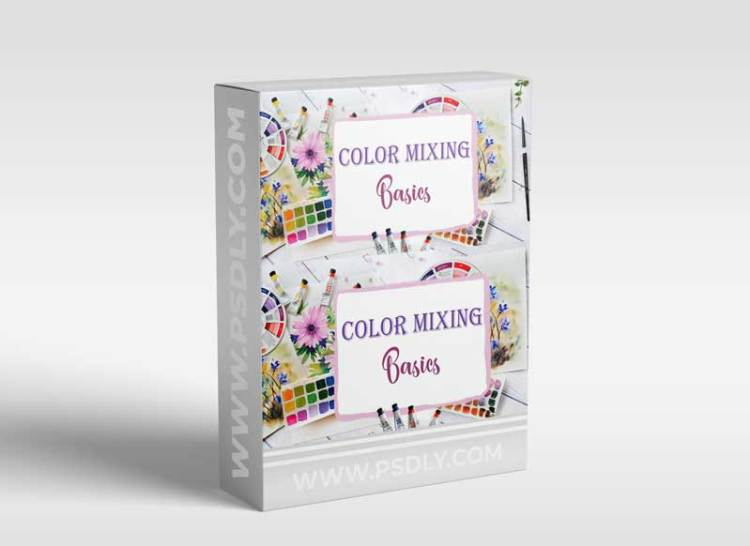 Color Mixing Basics in Watercolors for Beginners: learn to use a limited color palette