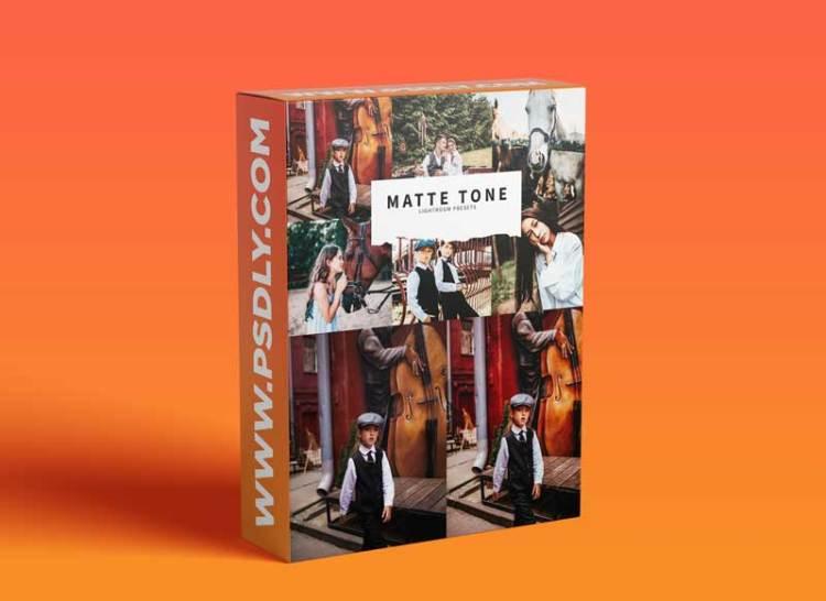 CreativeMarket - 10 Matte Tone Lightroom Presets 5978544