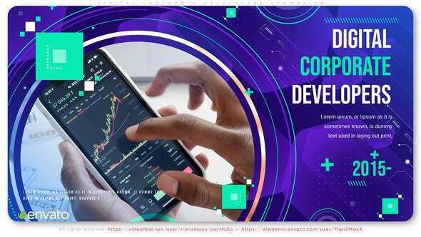 Videohive Digital Corporate Developers Promotion 31211721