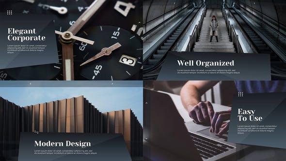 Videohive Elegant Corporate Clean Presentation DaVinci Resolve 30274731