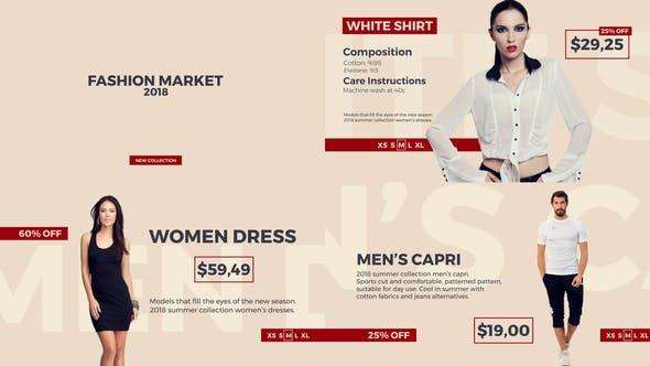 Videohive Fashion Market 21709749