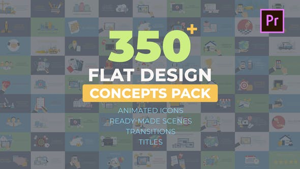 Videohive Flat Design Concepts 28481253