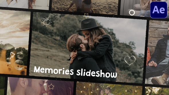 Videohive Memories Slideshow After Effects 31151517