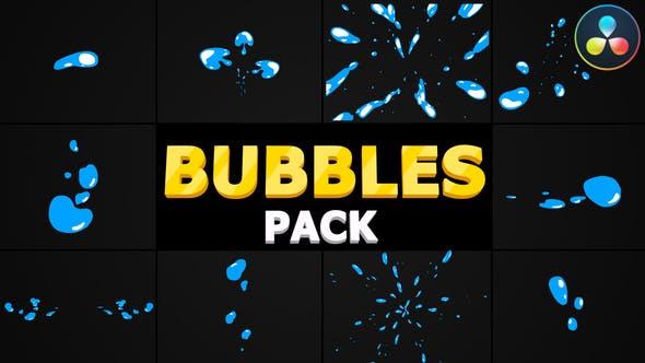 Videohive Bubbles Pack | DaVinci Resolve 31271911