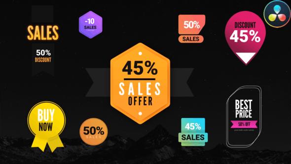 Videohive Sales Badges Toolkit 29830200