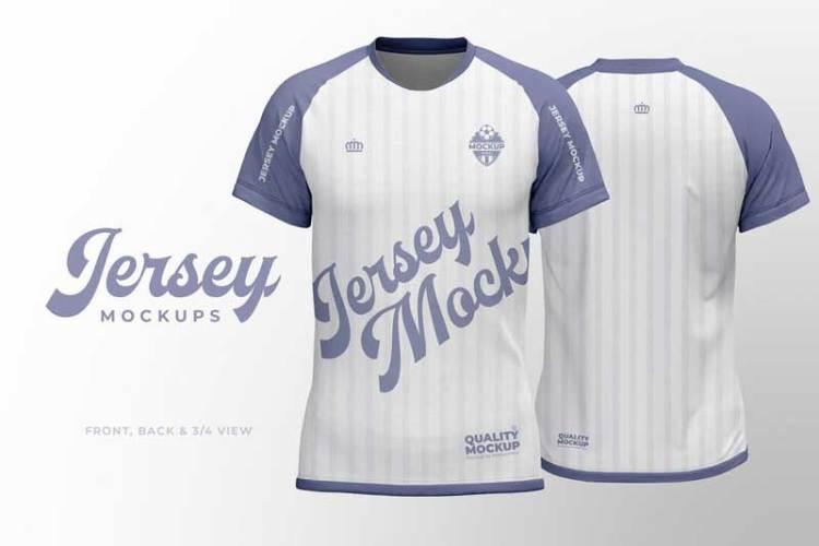 Sport Jersey Shirt Mockup VZRTQQ5