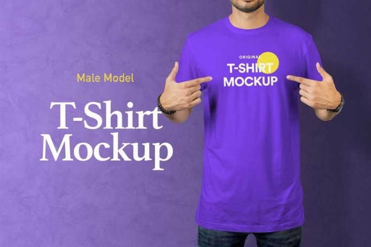 T-Shirt Mockup 18 MS6ZWJU