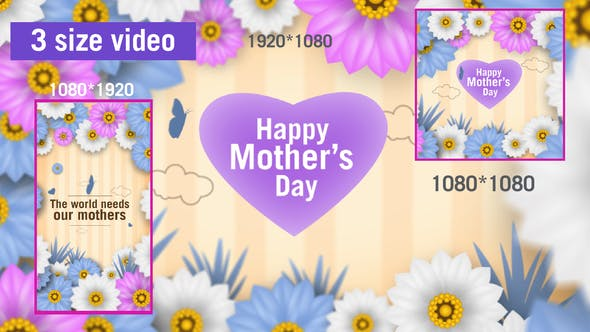 Videohive Mothers day 31145649
