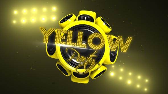 Videohive Yellow Party 6743614
