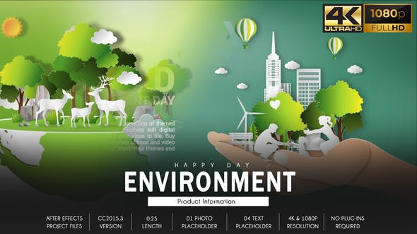 Videohive Environment Day B28 31535121