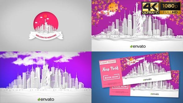 Videohive New York Opener 31749141