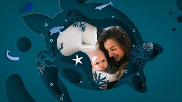 Videohive Family Photo Slideshow 31684473