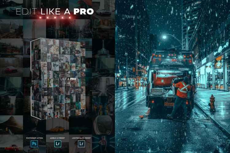 Edit Like A PRO 58th - Photoshop & Lightroom