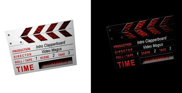 Videohive Intro Clappers 2 in 1 CS3 Full HD 112761