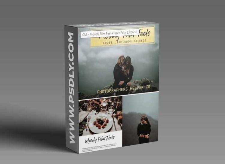 CM - Moody Film Feel Preset Pack 2379953