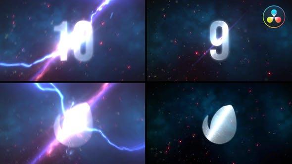 Videohive Thunder Countdown 29940457