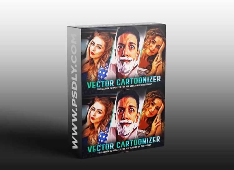 CreativeMarket - Vector Cartoonizer Oil Paint 6060449