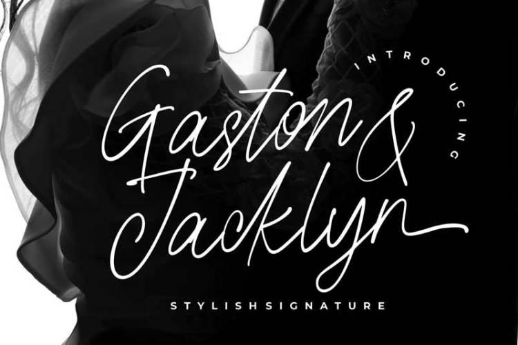 Gaston & Jacklyn Stylish Signature