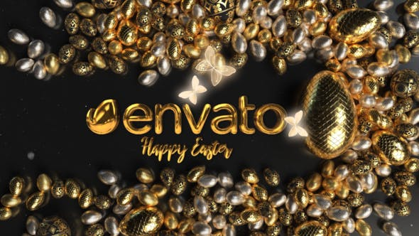 Videohive Egg Logo Reveal Easter 31335300