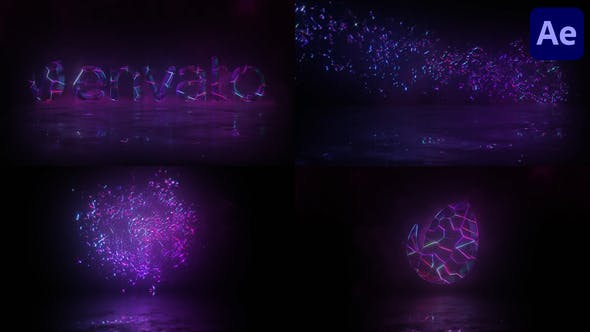 Videohive Cristal Magic Logo After Effects 31824879