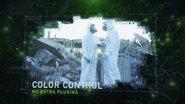 Videohive Nuclear Disaster Slideshow 31704861
