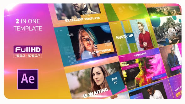 Videohive Trendy Intro Opener After Effects 23206412