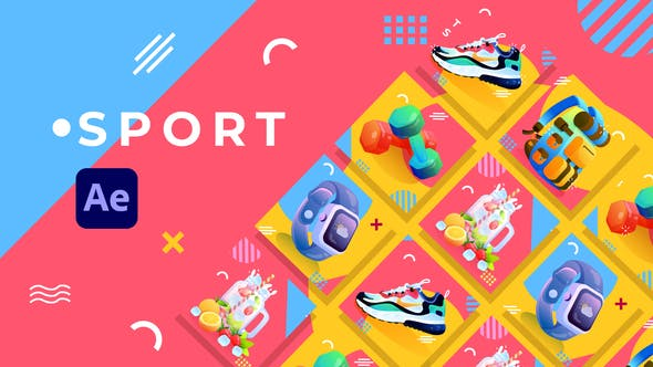 Videohive Sport Product Promo After Effects 31771436