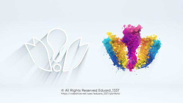 Videohive Light Particle Logo Reveal 31735713