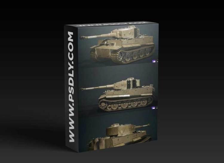 Tiger 1 World War II Tank