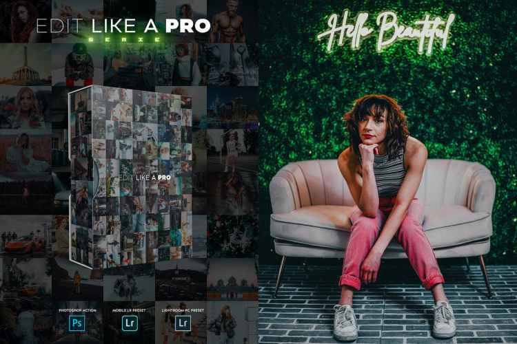 Edit Like A PRO 41th - Photoshop & Lightroom