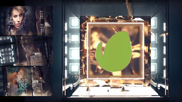 Videohive Gold Light Opening 31727342