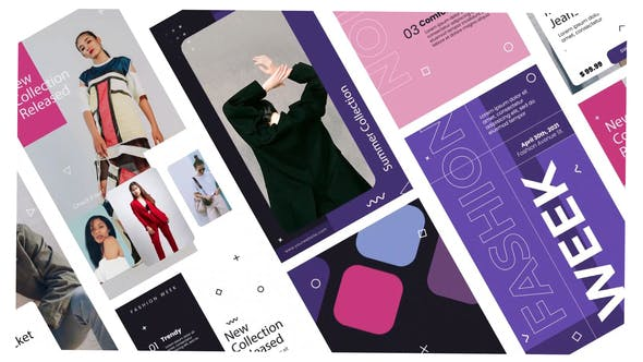 Videohive Fashion clothes stories instagram 31693842