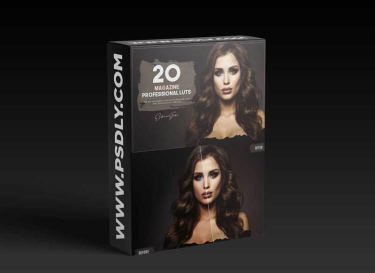 20 Magazine LUTs Pack