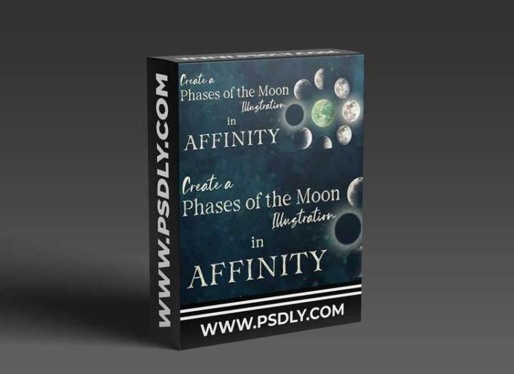 Affinity Designer for iPad: Create a Moon Phase Illustration Using the Transparency Tool