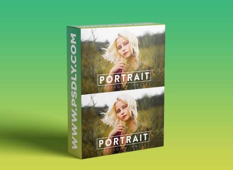 CreativeMarket - 10 PORTRAIT Lightroom Mobile Preset 5909830