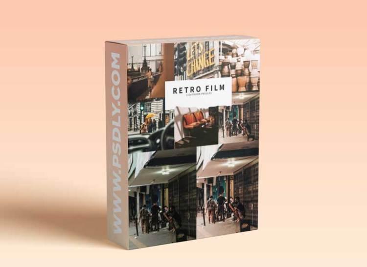 CreativeMarket - 10 Retro Film Lightroom Presets 5787571