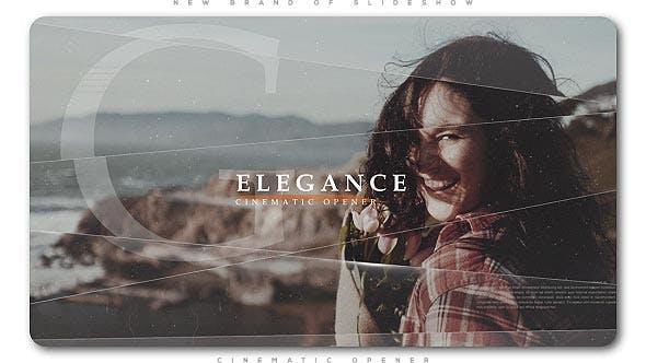 Videohive Elegance Cinematic Opener Slideshow 20668017