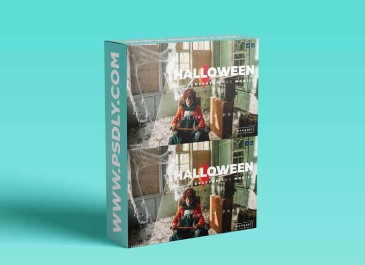 Halloween Desktop and Mobile Lightroom Preset