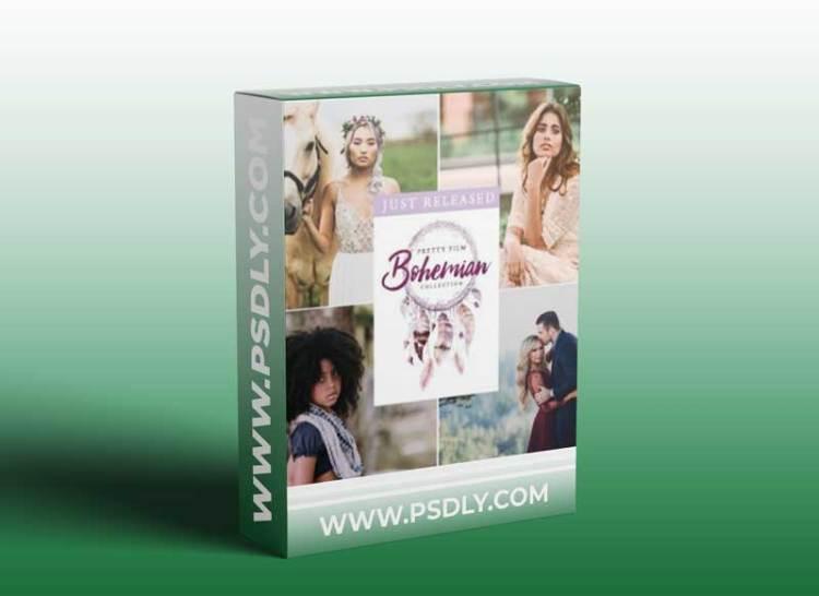 Pretty Presets - PRETTY FILM: Bohemian Collection LR Presets