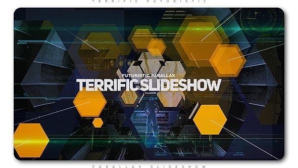 Videohive Terrific Futuristic Slideshow 20635699