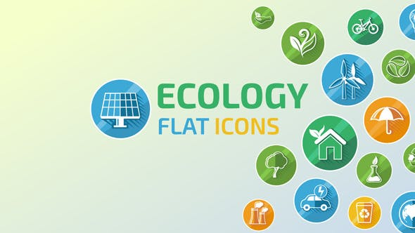 Videohive Ecology Concept Icons 14825637