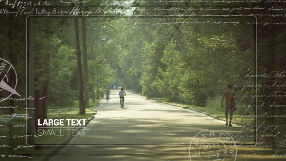 Videohive Love Letter Slideshow 12801710
